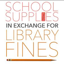 School Supplies for Fines