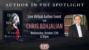 Live Virtual Author Event With Chris Bohjalian